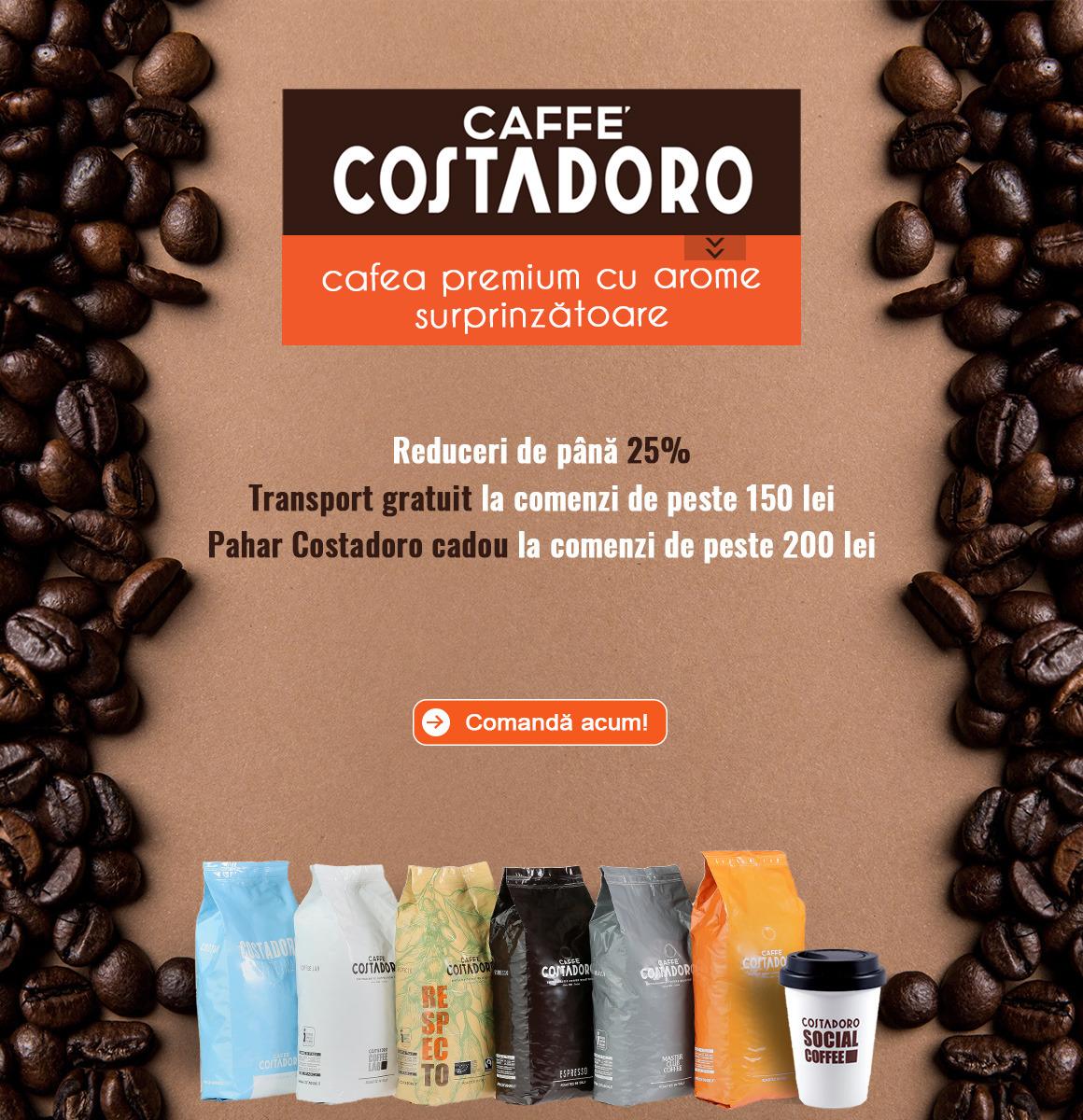 Promotii cafea Costadoro Aster Premium